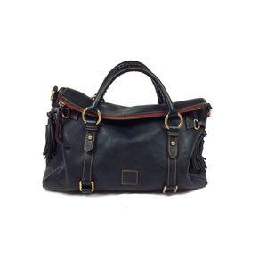 Dooney + Bourke florentine fold over large satchel